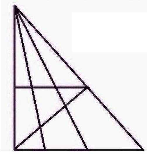 Cuantos triangulos puedes ver