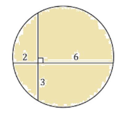 Determinar el radio del círculo