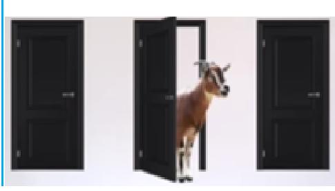 Auto y dos cabras