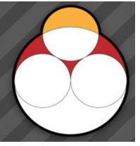 Cuatro círculos
