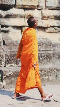El camino del monje
